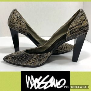 Mossimo Snake Skin Pointed Heels